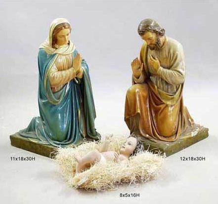 Minimalist Nativity Set and Controversy
