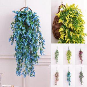 teal plants